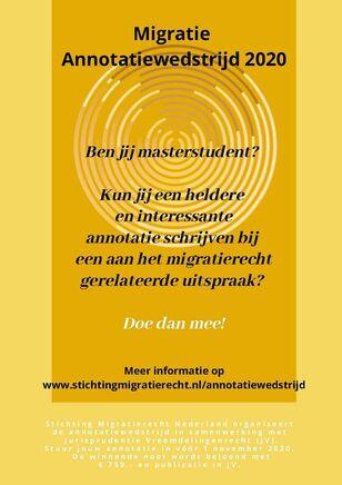 Flyer Annotatiewedstrijd
